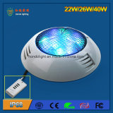 IP68 Waterproof 22W LED Pool Light avec style suspendu