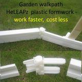庭の歩道の速のプラスチック型枠作業、より少なく費用、再使用可能なライト級選手