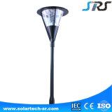 8W 정원사 최고 선택을%s 방수 태양 통합 높은 알루미늄 LED 정원 전등 기둥
