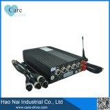 3G 4G WiFi GPS enregistreur DVR sécurité mobile de DHA voiture caméra 4 canaux
