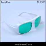 Óculos de segurança do laser de IDT/ Óculos de protecção laser para 630-660nm & 800-830nm atender marcação EN207