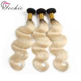Оптовая торговля Virgin человеческого волоса Weft Омбре бразильского Реми отклоняется от волос