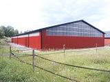 가벼운 강철 구조물 창고