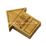 Bastone del USB di memoria Flash del USB Pendrive di legno di Customed