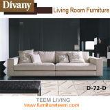 Heiße Verkaufs-italienisches Entwurfs-Gewebe-Kombinations-Sofa