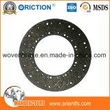 Fabricantes materiales de la cara de embrague del No-Asbesto de Firiction