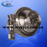 Válvula de Retenção Triclamp Sanitária de Aço Inoxidável