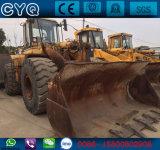 Cargador usado de la rueda del gato 966f, oruga usada 966f-1, 966f-2 del cargador