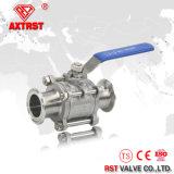 шариковый клапан 316/304 3PC с зажатым концом