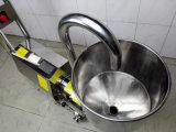 호퍼를 가진 위생 스테인리스 섞는 믹서 펌프