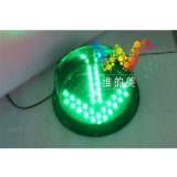 Alto semáforo verde de la señal LED de la flecha del brillo 200m m