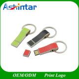 Azionamento di cuoio dell'istantaneo del USB del bastone USB3.0 del USB di Keychain del metallo