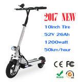 Взрослые складной электрический скутер города Коко двигателя аккумуляторная батарея