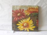 Pittura d'attaccatura della grande del crisantemo tre del reticolo tela di canapa decorativa della casa