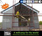 Chalet prefabricado del lujo portable de la fuente de la fábrica de Wellcamp