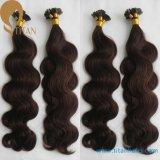 30% de desconto em Indian Remy de cabelo humano queratina Extenison Cabelo