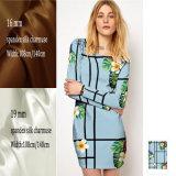 Breite Breiten-Silk Ausdehnung Charmeuse Gewebe der Qualitäts-16mm 19mm für Kleid