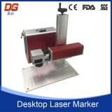 Laser die van de Vezel van de hoge snelheid de Draagbare Machine 20W merkt