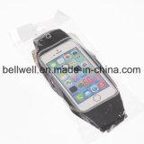 Sacchetto compatibile dello schermo attivabile al tatto del pacchetto della cinghia di vita del telefono per Smartphone