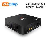 Androider Kasten Fernsehapparat-V88 Joinwe vom heißen Verkauf in Mic