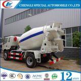 4cbm 5cbm 6 바퀴 구체적인 트럭 믹서