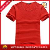 Hotel T-Shirt con el Rojo $ el logotipo del cliente.