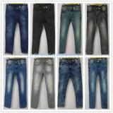 Основные джинсыы джинсовой ткани типа для девушок (121-G303)