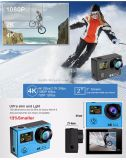 Câmera de ação de 4 K câmera FHD Câmera de esqui de ski wifi Go Câmera de esporte impermeável