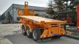 トレーラトラックのトレーラーをひっくり返す中国のベスト30-50のトン3の車軸