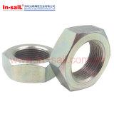 Tuercas de fijación Nuts del conducto del tubo DIN431 con la cuerda de rosca del acuerdo