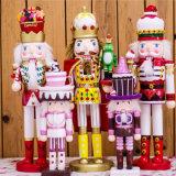 Cascanueces de tamaño natural modificado para requisitos particulares fábrica de la Navidad para la venta