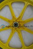 Rotella solida del poliuretano da 20 pollici per la rotella del carrello di giardino
