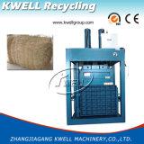 Prensa hidráulica da fibra da prensa/coco da palma da fibra/máquina de empacotamento fibra do algodão