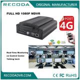 Seguridad del camión 3G / 4G HD 1080P Mdvr 12V coche CCTV vehículo de seguimiento del sistema