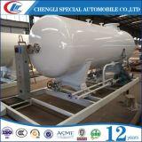 移動式5cbm LPGのスキッド端末50cbm LPGシリンダー給油所