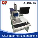 Macchina calda di CNC della marcatura del laser del CO2 di stile 10W per vetro