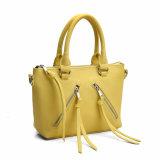 Sacchetto 2016 di Tote delle donne gialle della caramella con la cinghia di spalla (MBNO040130)