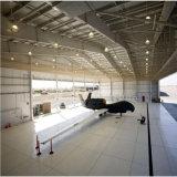 Hangar léger préfabriqué d'aéroport de structure métallique de coût bas