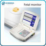 10.4 인치 단 하나 또는 쌍둥이 휴대용 임산부 태아 모니터