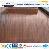 Color 304 de la rayita 201 de PPGI que cubre la placa de acero inoxidable