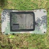 5V 7W bewegliche Sonnenkollektor-Energiequelle-Aufladeeinheit für Handy GPS-Digitalkamera PDA