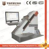 Máquina de prueba de fuerza de resistencia a la tracción del material de caucho de ASTM