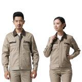 Vêtement de travail de sergé pour l'uniforme de travail du procès de vêtements de travail d'ingénieur