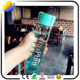 Kundenspezifische Firmenzeichen-Form-bequeme freie Glasflasche