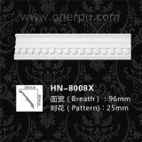Painel cinzelado Hn-8008X do Cornice do plutônio da venda moldes decorativos quentes