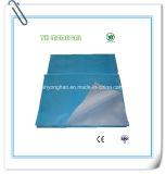 Feuille de lit jetable pour hôpitaux avec fils renforcés
