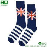 Normale schwarze Mannschafts-Socken für Männer