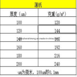Papel de la roca para la impresión y a prueba de humedad hechos polvo y rasgón resistente