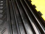 내구재 5 채널 옥외 고무 케이블 프로텍터