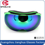 Customized Strap Winter Anti Fog Neve Sports Goggles Esférico Dual Lens Unisex